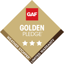 Best Roofing Company - Master Elite GAF Golden Pledge