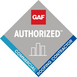 GAF Authorized Commercial Roofing Contractor Logo