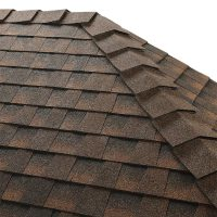 GAF ridglass installed - Best Roofing Company